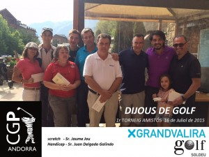 1r dijous golf Grandvalira Golf Soldeu