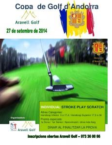 POSTER Copa d Andorra 2014