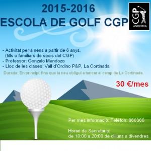 escola de golf 2015-2016